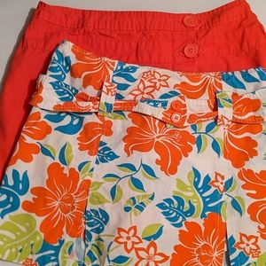 Lot of 2 Ladies Skorts